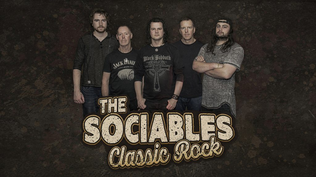 The Sociables Classic - Rock Band Photography