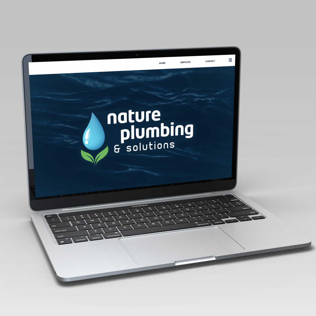 Nature Plumbing & Solutions Business Logo Design by Universal Mojo